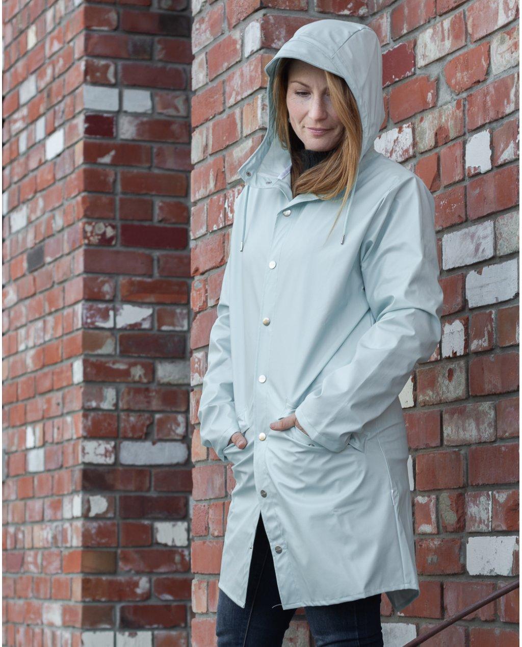 Rains | Long Jacket | Ice