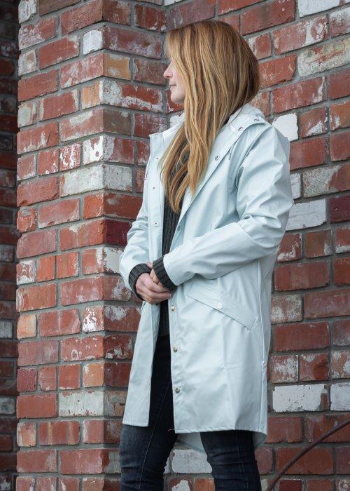 Rains   Long Jacket   Ice