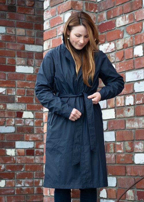 Rains   Overcoat   Blue