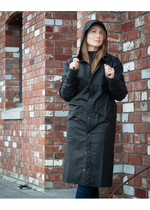 Rains | Longer Jacket | Black