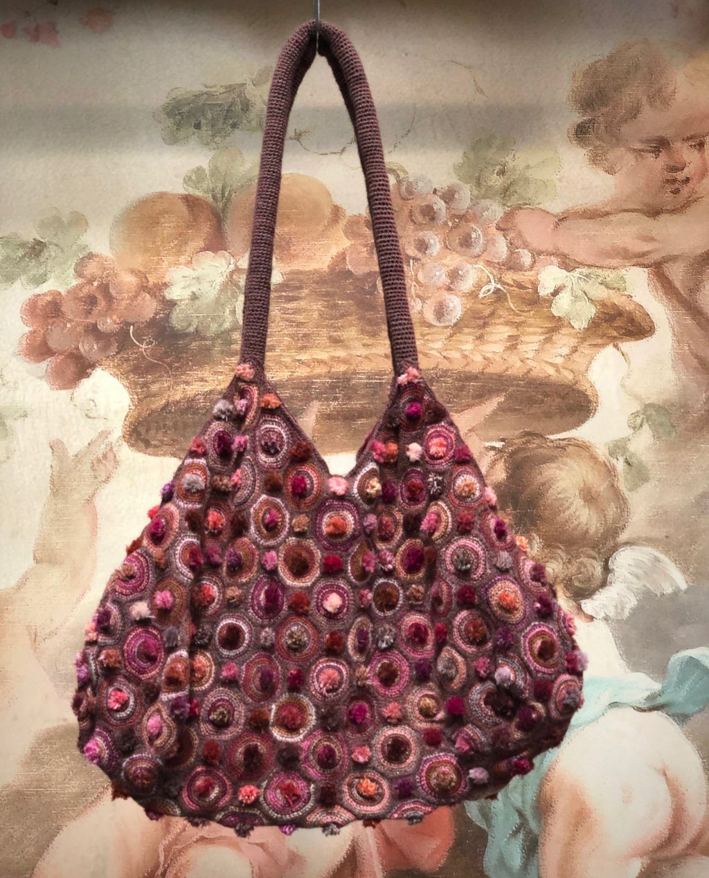 Sophie Digard   Crocheted Shoulder Bag   Medium   Slouchy Style
