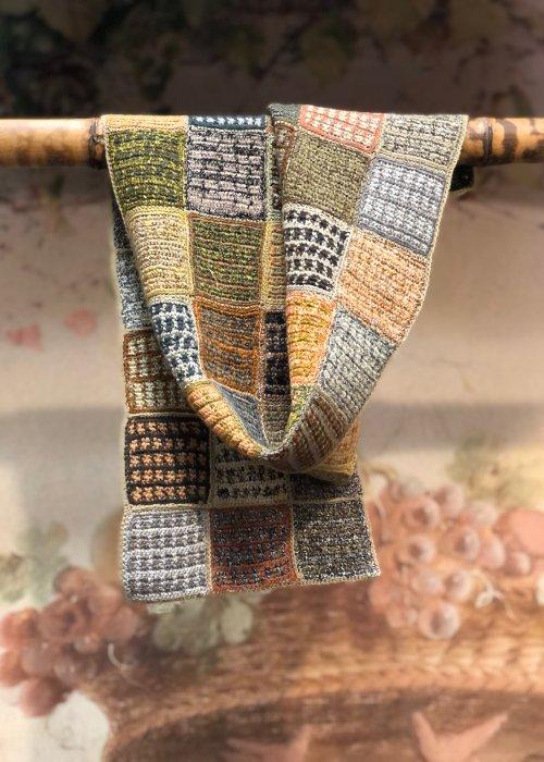Sophie Digard | Esprit Voyageur | Small Crocheted Scarf | Merino