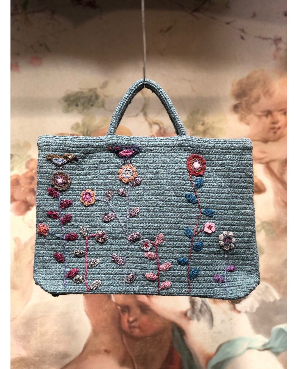 Sophie Digard   Crocheted Hand Bag   Large