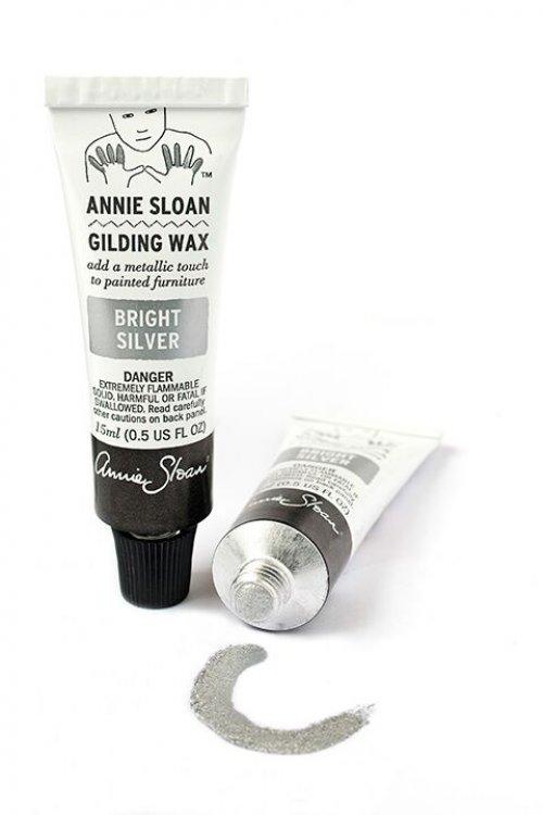 Annie Sloan Gilding Wax - Bright Silver
