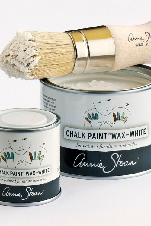 Annie Sloan Soft Wax - White