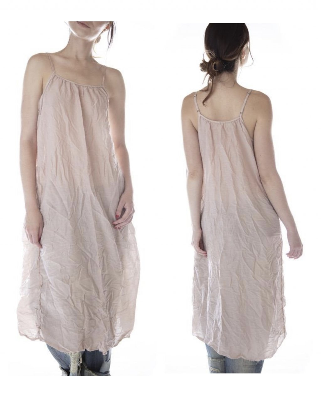 Magnolia Pearl   Audrey Simple Slip in Cotton Silk   Molly