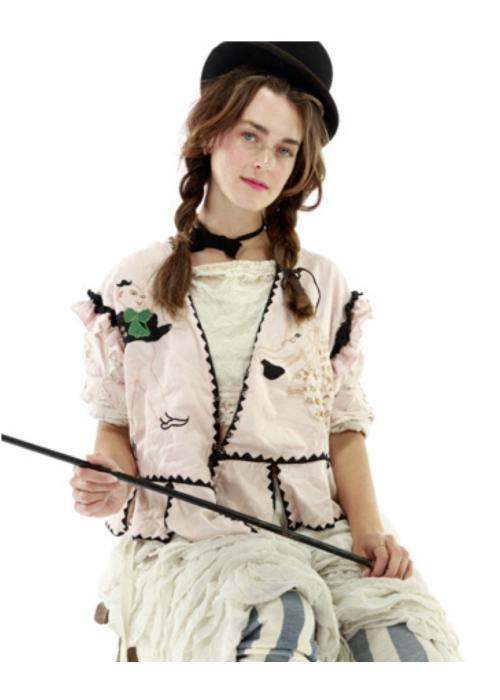 Magnolia Pearl | Binky  Jacket | Cotton Candy