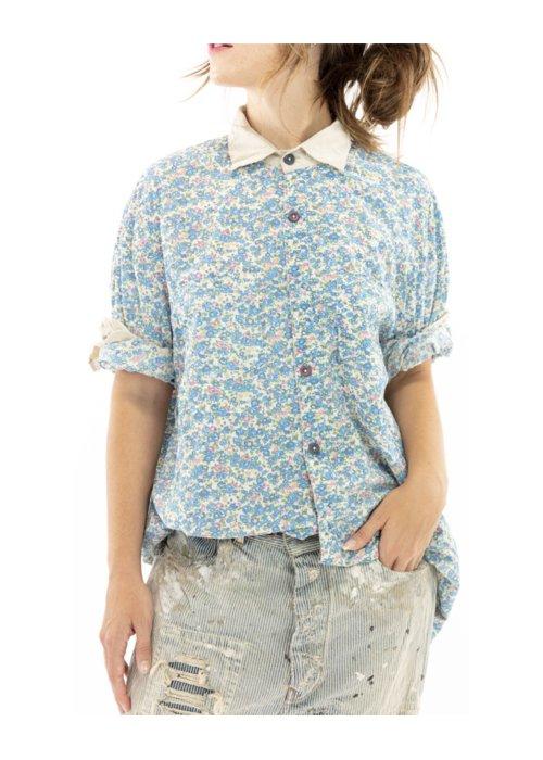 Magnolia Pearl | Boyfriend Shirt | Texas | European Cotton Print