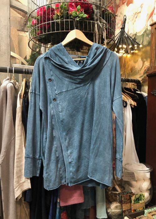 Chalet et Cici | Josefina Jacket| Denim | 100% Cotton