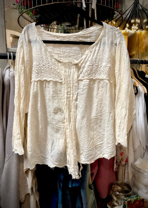 Magnolia Pearl | Clementine Blouse | Ivory