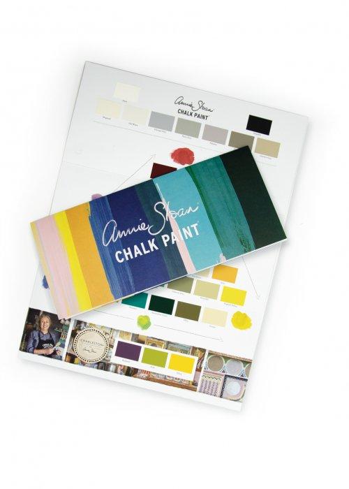 Annie Sloan Chalk Paint Colour Card