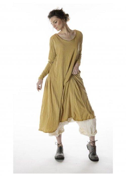Magnolia Pearl | Cotton Jersey T Dress | Marigold