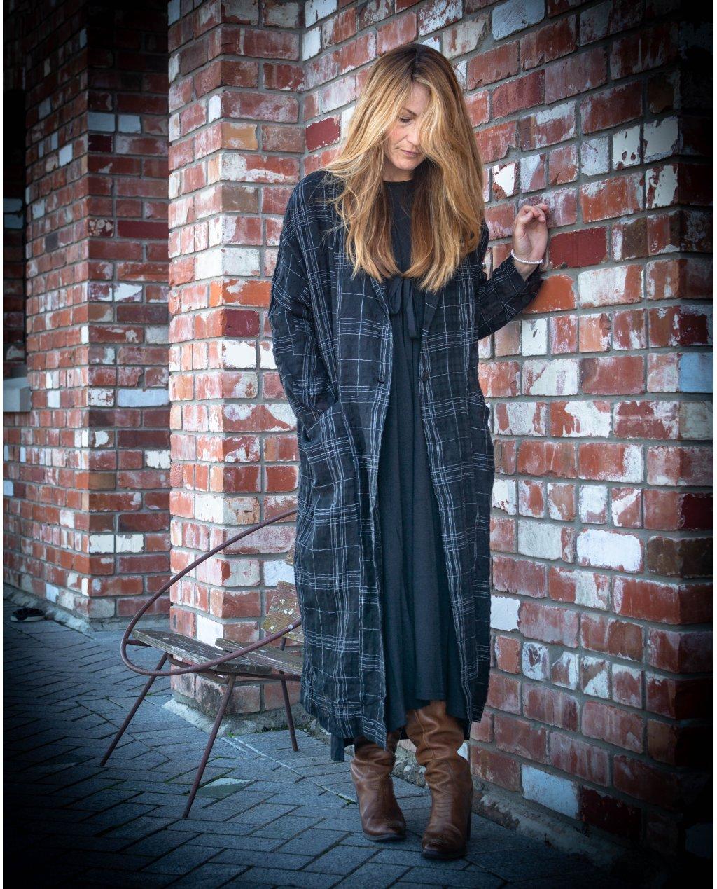 Jason Lingard | Dysis Duster Coat | Black