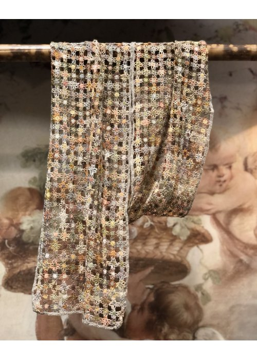 Sophie Digard | ALL NEW - SPRING 2020 | Crocheted Linen Scarf | Medium