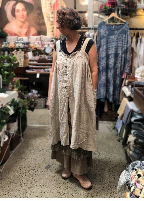 Magnolia Pearl | Eugenia Apron Dress | Putty