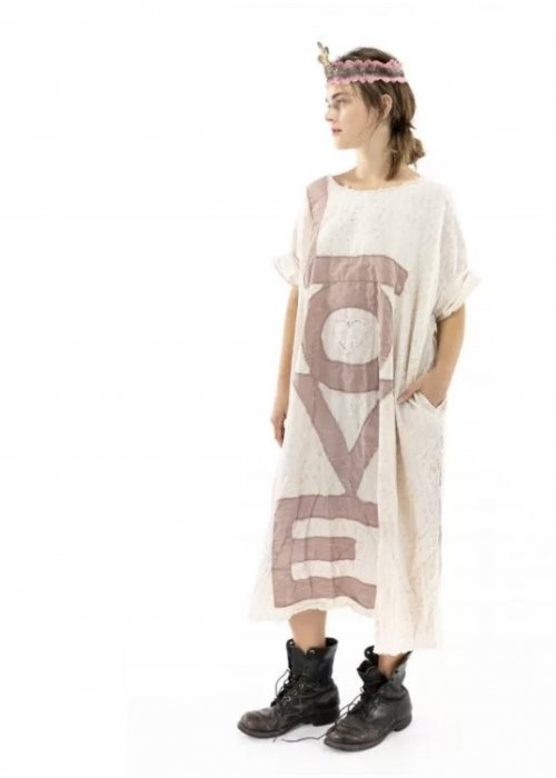 Magnolia Pearl | Evolve Artist's Smock Dress | European Cotton | Flutter