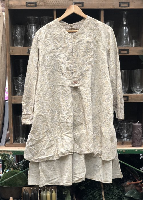 Magnolia Pearl | Ines Shirt | Fleuri | French Cotton | Hand-block Printed