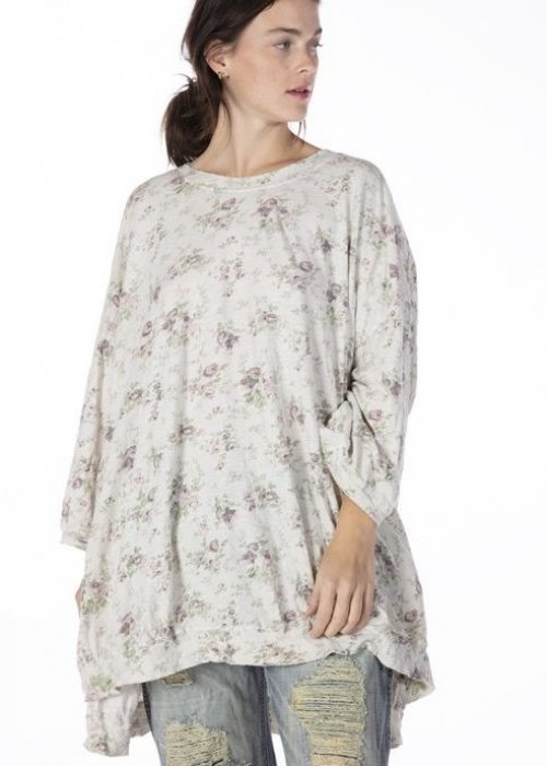 Magnolia Pearl | Francis Oversized Pullover T | Blackberry Rose