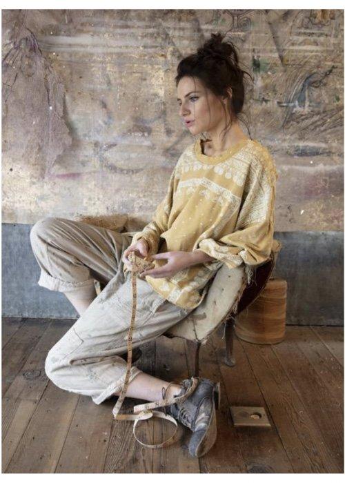 Magnolia Pearl | Francis Over-sized Hi-Lo Pullover | Goldrush