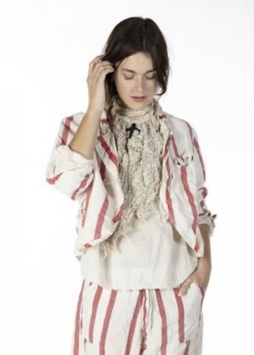 Magnolia Pearl | Fredina Suit Jacket | Cotton Linen | Ferris Wheel
