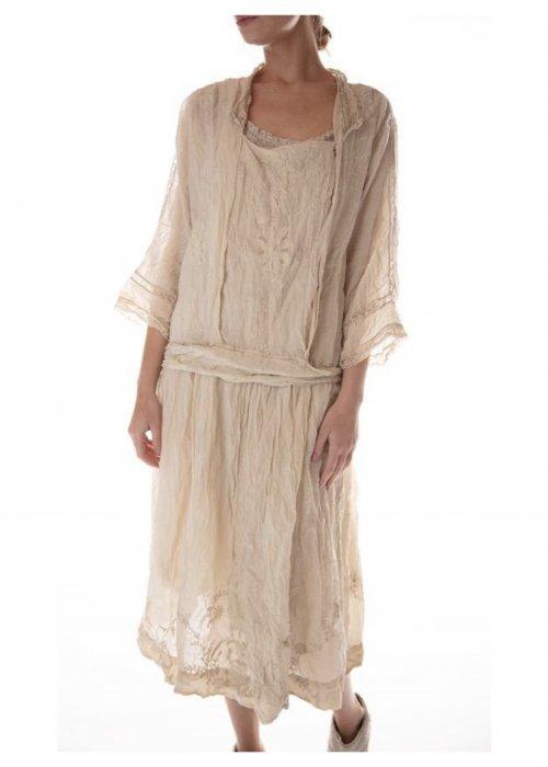 Magnolia Pearl | Full Bloom Garden Dress | Moonlight