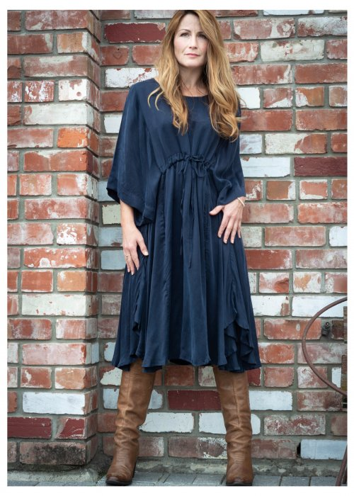 Jason Lingard | Gypsy Dress | Blue