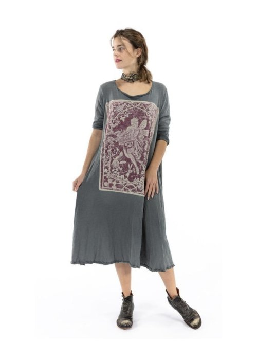 Magnolia Pearl | Cotton Jersey Healer of Nature Dylan T Dress | Ozzy
