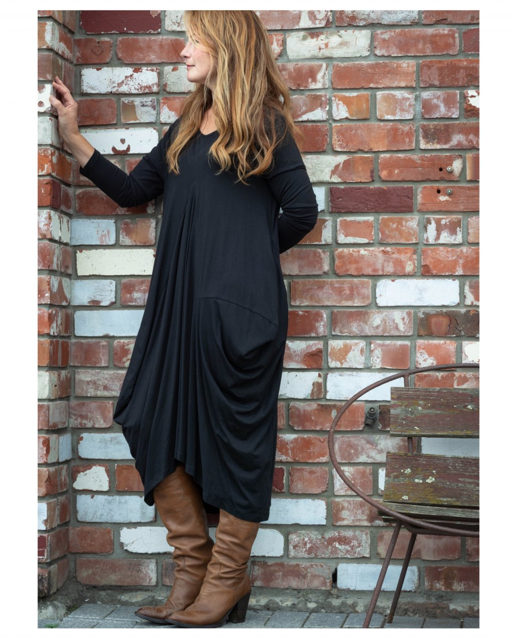 Jason Lingard   Helios Dress   Black