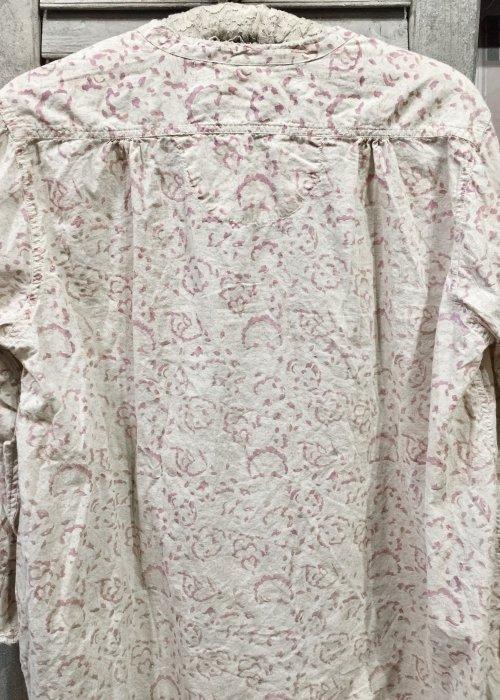 Magnolia Pearl | Idgy Mens Shirt | European Cotton | Hand block-print | Alana