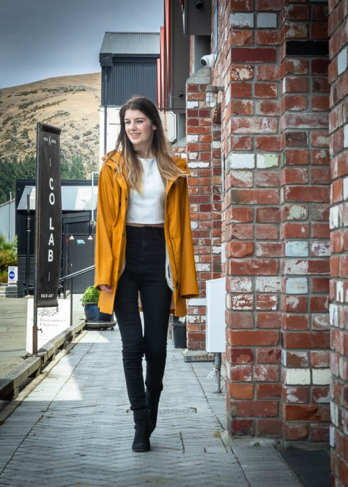 Ilse Jacobsen   Raincoat with Hood   Dijon