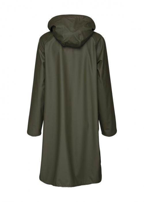 Ilse Jacobsen | Raincoat with Detachable Hood | Army