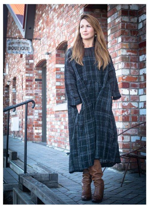 Jason Lingard | Kilter Dress | Black