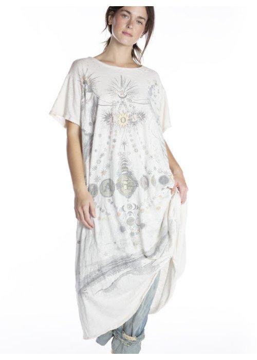 Magnolia Pearl | Cotton Jersey Magic Love T Dress | New Boyfriend Cut | Moonlight