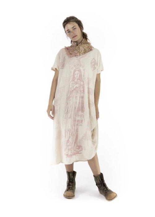 Magnolia Pearl | Cotton Jersey Mary of Prosperity T Dress | Petal
