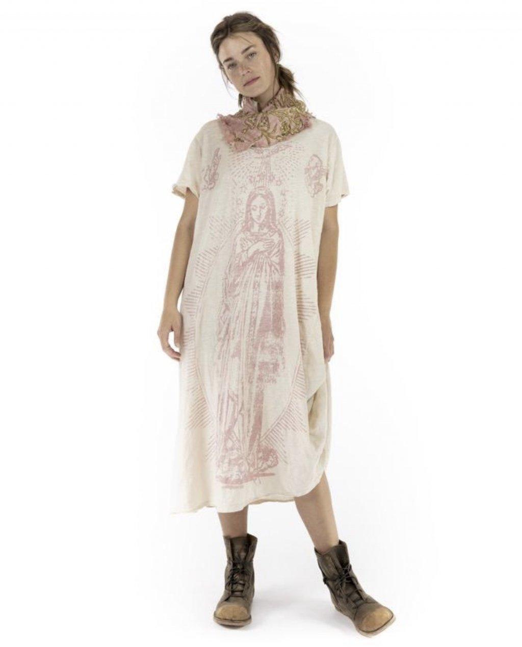 Magnolia Pearl   Cotton Jersey Mary of Prosperity T Dress   Petal
