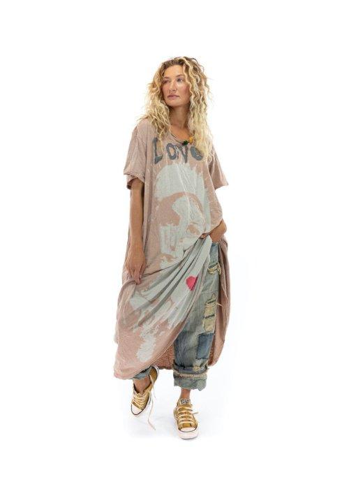 Magnolia Pearl | Cotton Jersey Massabielle T Dress | Dandy