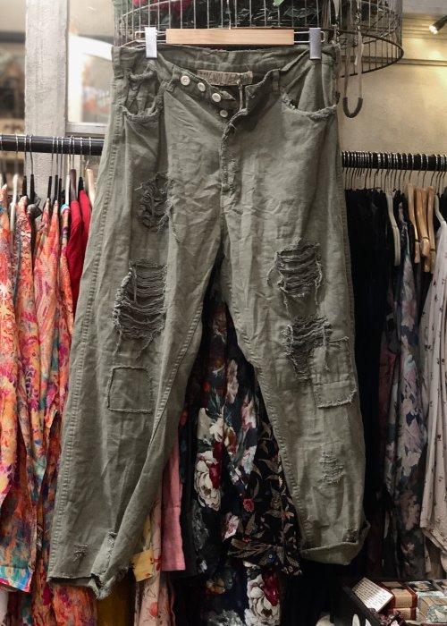 Magnolia Pearl   Miner Pants   Cotton Denim   Peace