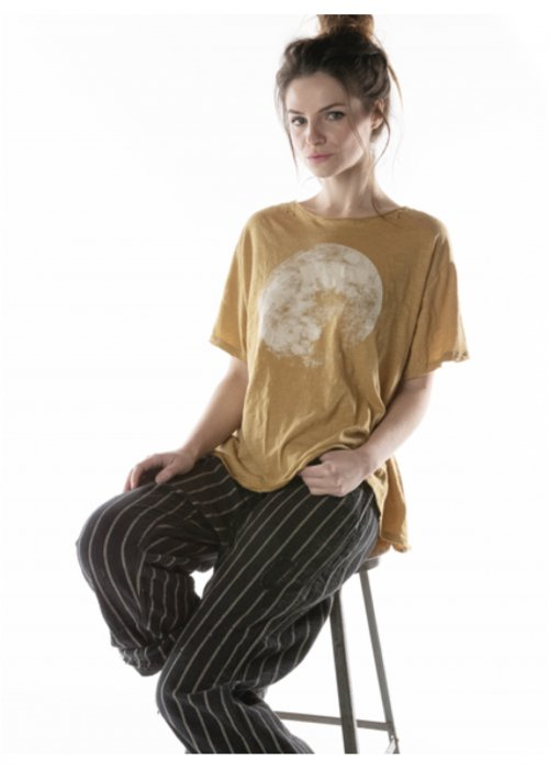 Magnolia Pearl | Cotton Jersey Moon T | Marigold