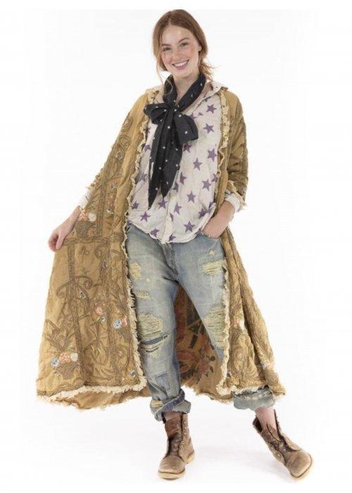 Magnolia Pearl |  O'Leary Coat | Modal Satin | Baltic Amber