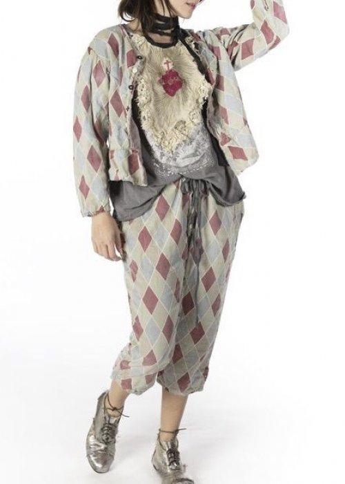 Magnolia Pearl   Pitre Suit Pants   Claret