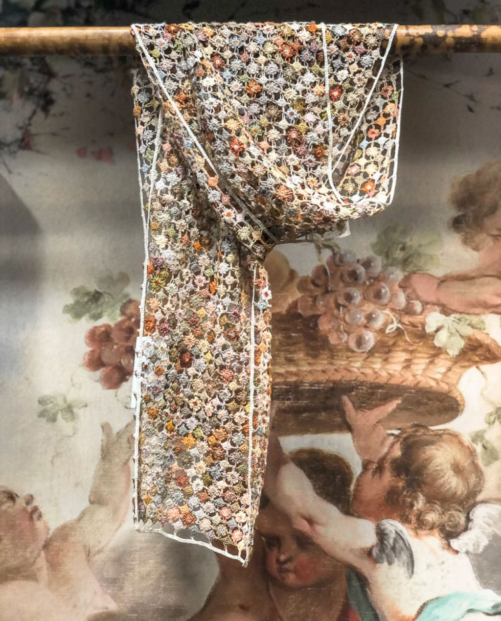 Sophie Digard | ALL NEW - SPRING 2020 | Less is More | Crocheted Linen Scarf