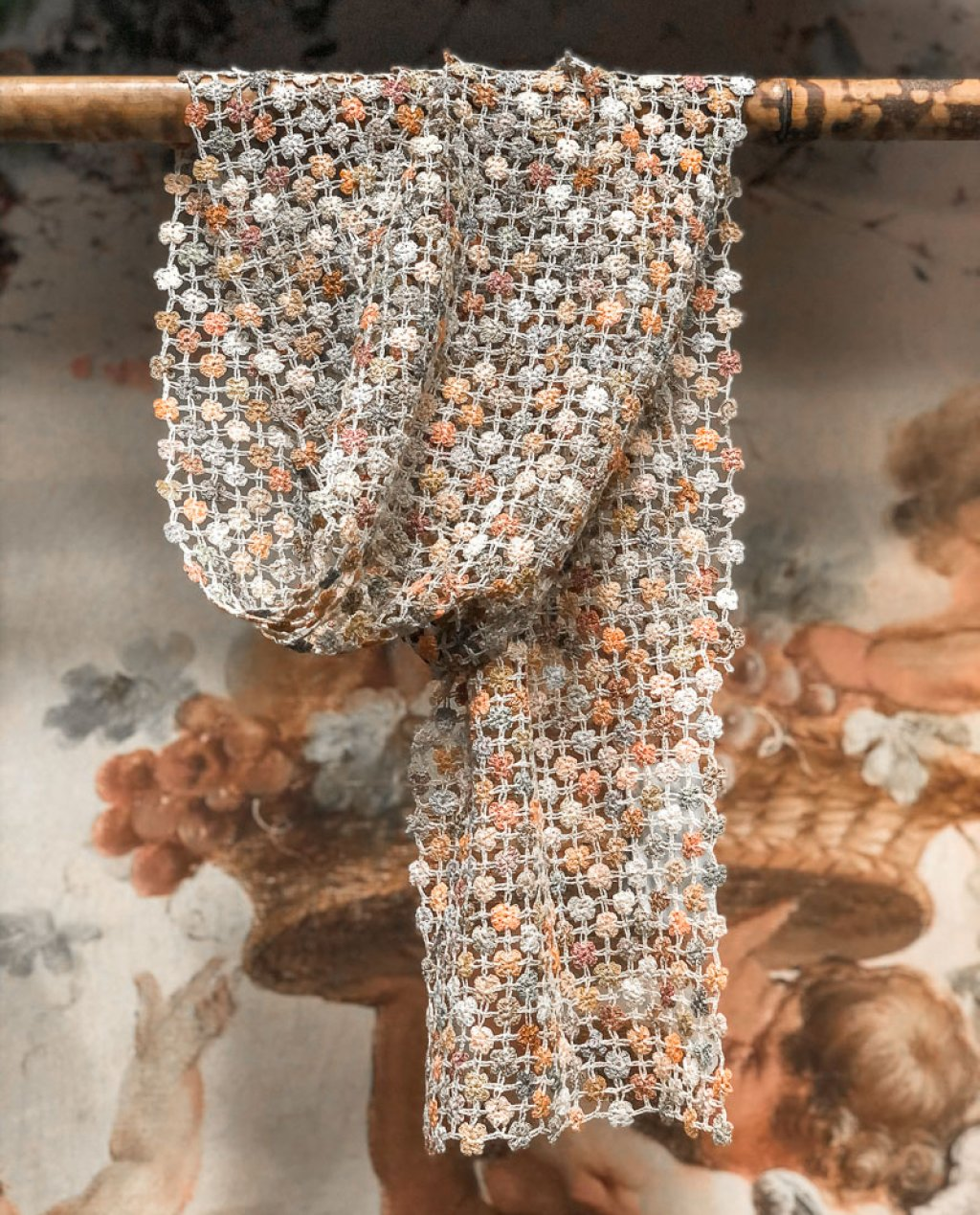 Sophie Digard | ALL NEW - SPRING 2020 | Way of Life | Crocheted Linen Scarf
