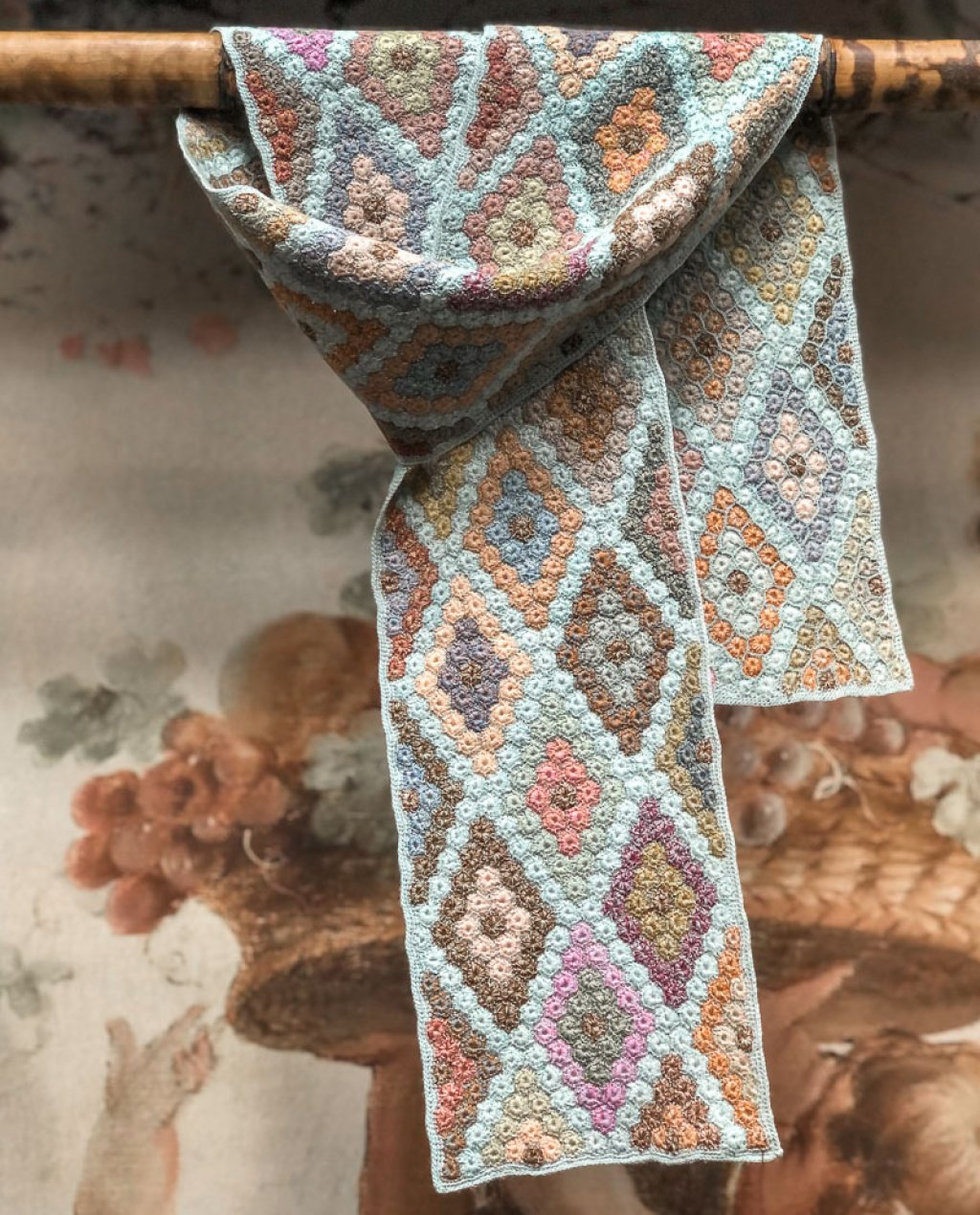 Sophie Digard | ALL NEW - SPRING 2020 | Gild | Crocheted Linen Scarf