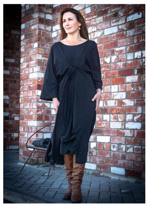 Jason Lingard | Sika Reversible Dress | Black