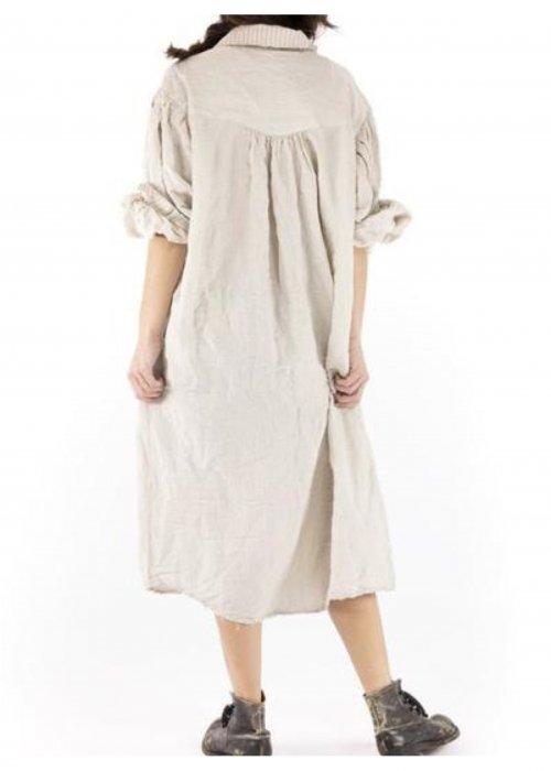 Magnolia Pearl   Tora Shirt Dress   Cotton Viscose   Henry