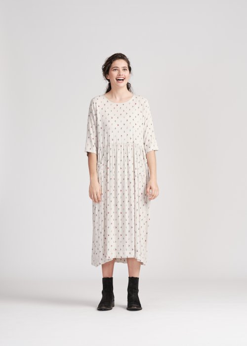 Widdess | Vivian Dress | Looking Glass | Rayon